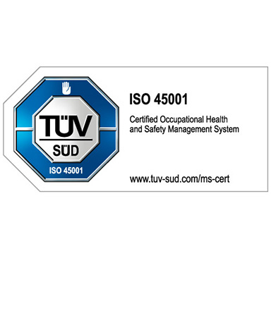 ISO45001 Accreditation Achieved